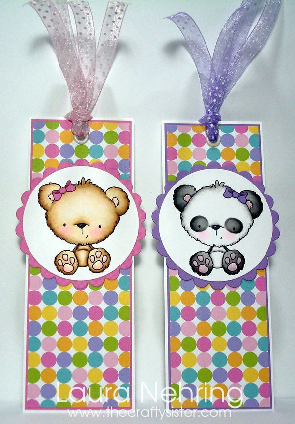 FluffyBearBookmarks